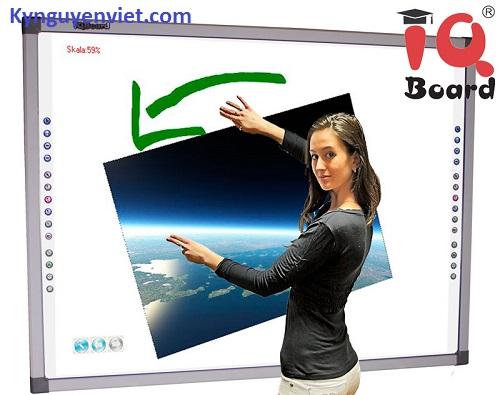 Bảng Tương Tác Thông Minh đa điểm IQBoard 100 Inch